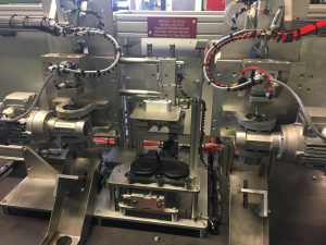 TF Automation supplies leak test and trepanning machine for automotive industry