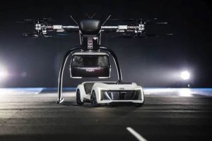 Audi, Airbus and Italdesign join forces to test flying taxi at Drone Week