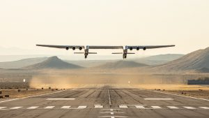 World's largest aircraft completes test flight