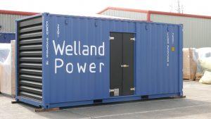 Welland Power announces 2020 generator range