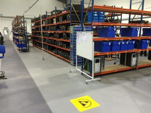 Why the electronics industry needs ESD flooring