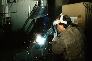 What is the impact on welder training during Covid-19?